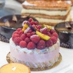 Charlotte vanille framboise, saint-germain, millefeuilles… Autant de gâteaux réalisés à l'Atelier des Gourmands