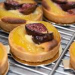 Tartelette poire figue de l'Atelier des Gourmands