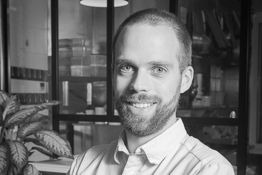 Paul Dumas, associé de l'Atelier des Gourmands, traiteur et événementiel