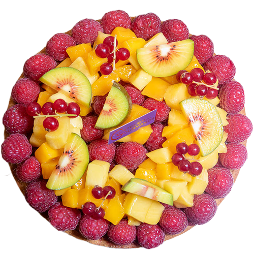 Tarte aux fruits de l'Atelier des Gourmands, image de header accueil